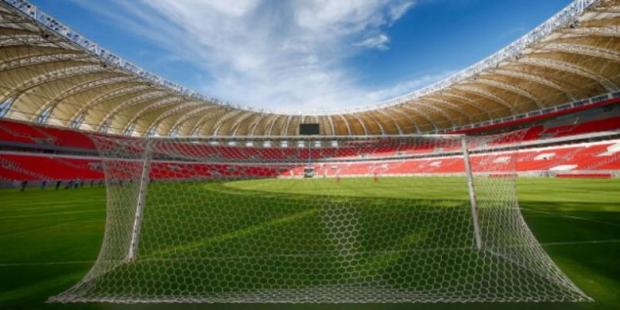 Stadion Beira-Rio di Porto Alegre, Brasil